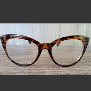 Betsey Johnson Oversized Cat Eye Reading Glasses